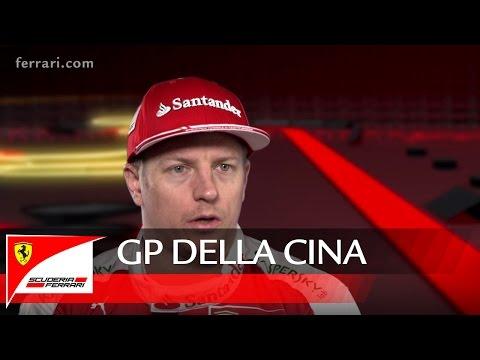 GP della CINA - Kimi Raikkonen