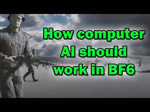 How the Next Battlefield should use AI in their next game