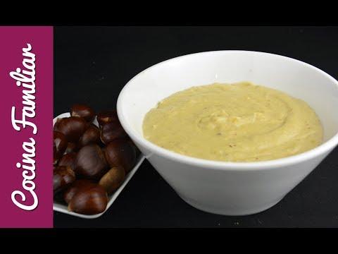 Como hacer pure de castañas | Recetas caseras fáciles de Javier Romero Cocina familiar