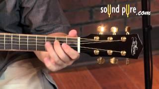 McPherson 3.5 XP Acoustic Guitar with Adirondack/Flamed Black Acacia