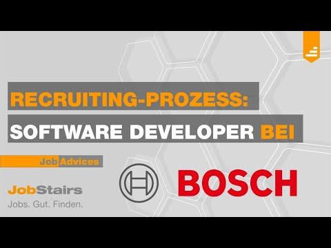 Recruiting Video Bosch - Software Developer
