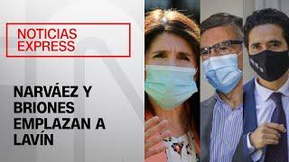 """""""Se llama discriminación"""": Narváez y Briones emplazan a Lavín ante dichos por matrimonio igualitario"""