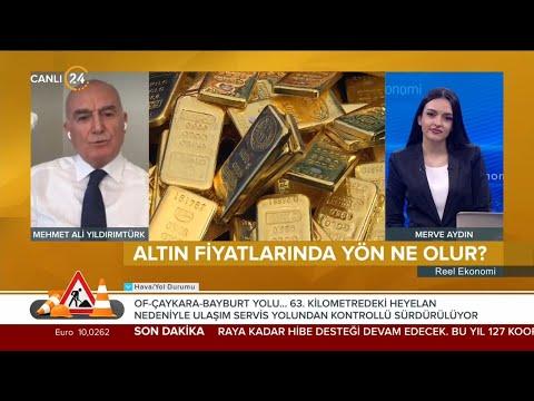 Reel Ekonomi / Altın Fiyatlarında Yön Ne Olur? -Mehmet Ali Yıldırımtürk – 07 05 2021