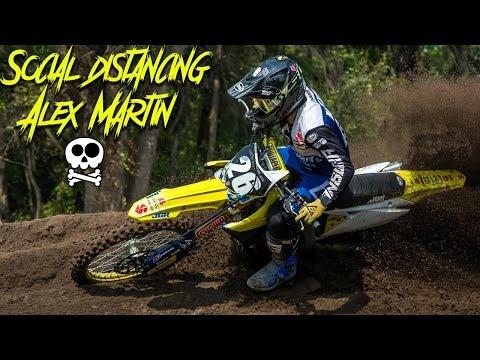 Alex Martin Social Distancing - Motocross Action Magazine