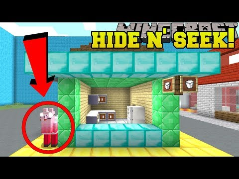 Minecraft: LOOT LLAMAS HIDE AND SEEK!! - Morph Hide And Seek - Modded Mini-Game