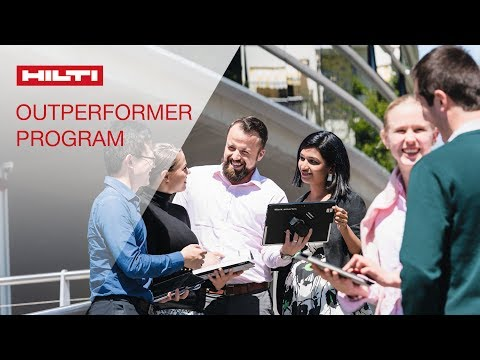 LEARN about the Hilti Outperformer Experience