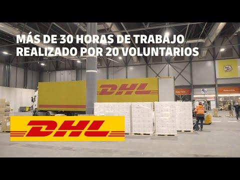 DHL COLABORA CON LA ENTREGA DE MATERIAL SANITARIO