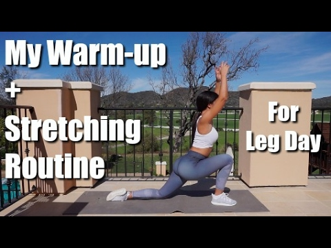 My Warm-up/Stretching Routine | For Leg Day