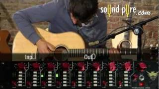 Phoenix Audio DRS-8 Mic Pre on Acoustic Guitar Review