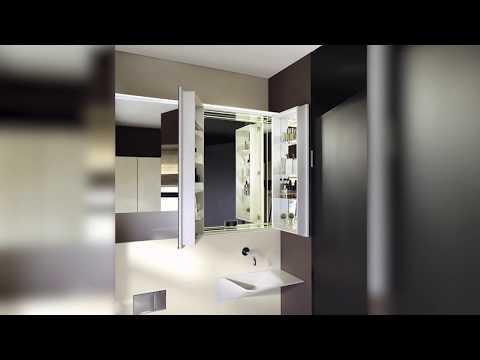 burgbad rc40 Einbaurahmen Wandeinbau Spiegelschrank Montage