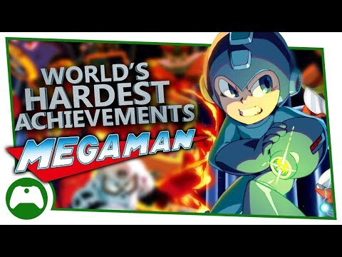 Mega Man Legacy Collection | World's Hardest Achievements | Gold x1