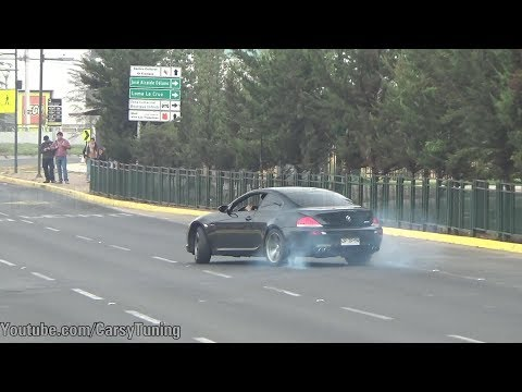 "Will it Drift"" Aston Martin Virage, BMW M6 V10 + EXTRA"