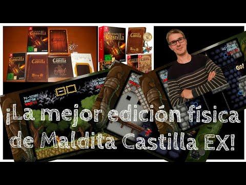 Unboxing: Maldita Castilla Ex (Abylight Studios) Edición Coleccionista para Nintendo Switch