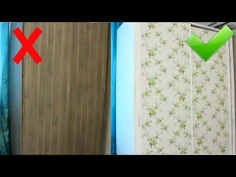 Бюджетный РЕМОНТ старой МЕБЕЛИ СВОИМИ РУКАМИ /ПЕРЕДЕЛКА шкафа из Икеи / DIY photo