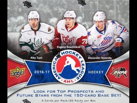 Box Busters 2016-17 Upper Deck AHL