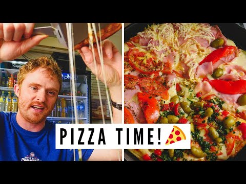 AWESOME PIZZA IN ARGENTINA! Traveling to TRELEW, Chubut, Argentina