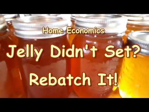 Re-batching Apple Jelly That Didn't Set!