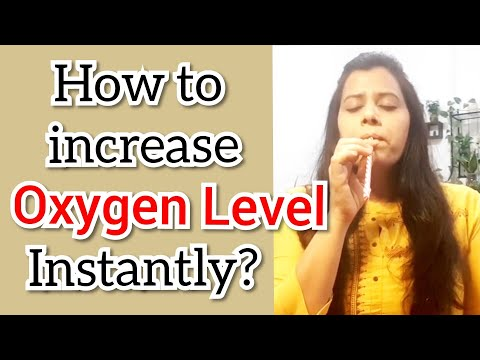 How to Increase OXYGEN LEVEL in body instantly with this one breathing technique   Straw breathing
