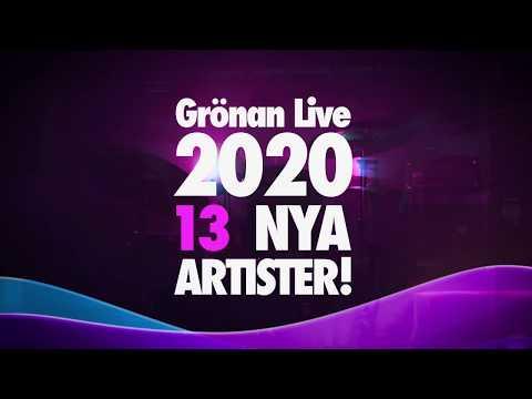 13 nya artister till Grönan Live 2020!
