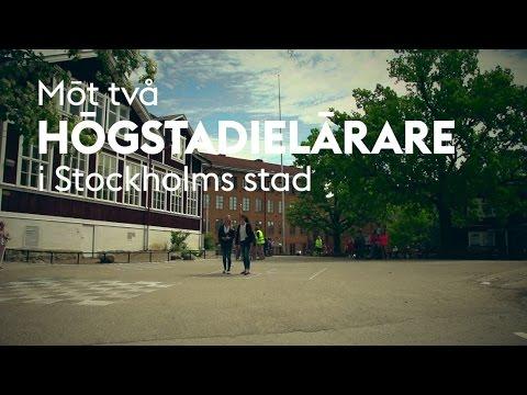 Möt två högstadielärare i Stockholms stad