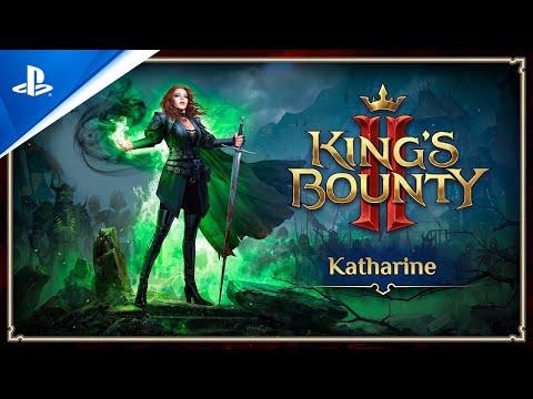 King's Bounty II - Katharine Trailer   PS4