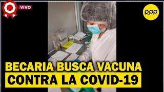 Estudiante trabaja con científicos para encontrar vacuna contra la COVID-19