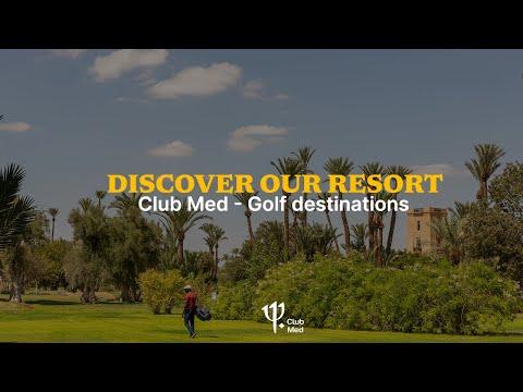 Discover Club Med golf destination