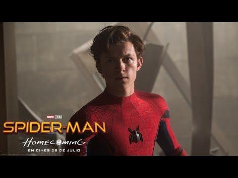 SPIDER-MAN: HOMECOMING. Adelanto de los primeros minutos de la película. En cines 28 de julio.