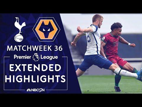 Tottenham v. Wolves | PREMIER LEAGUE HIGHLIGHTS | 5/16/2021 | NBC Sports