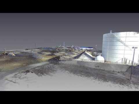 Orbit Video of 3D Point Cloud
