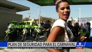 Autoridades anuncian plan de seguridad para el Carnaval de Barranquilla