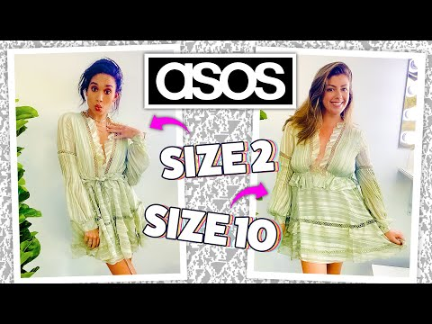 """Video: ASOS """"Trending Now"""" Clothing on 2 Different Body Types! [Size 2 vs Size 10]"""