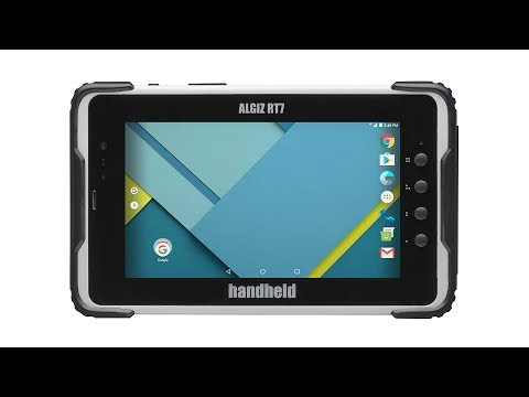 Handheld Algiz RT7: Product Introduction