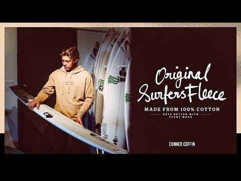 Conner Coffin's 2018 Pipeline Quiver | The Original Surfer's Fleece | Rip Curl