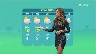 Así estarán las temperaturas en este inicio de semana en La Paz