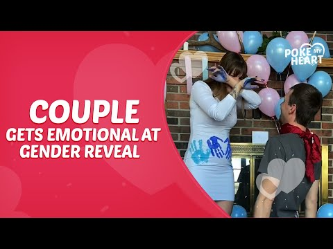 Couple Gets Emotional at Gender Reveal For their Twins