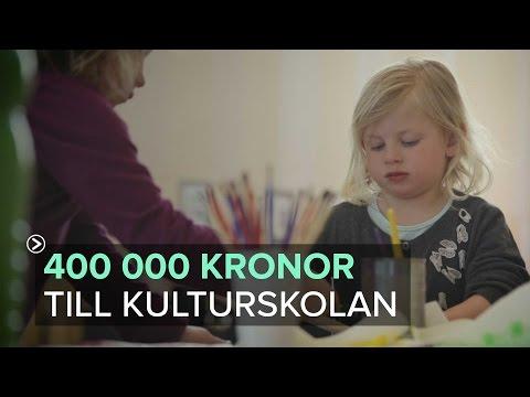 Kungälv - 400 000 kronor till kulturskolan