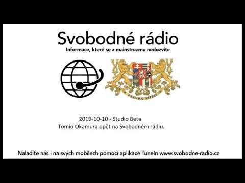 Tomio Okamura: Tomio Okamura naživo ve Svodném rádiu 10.10.2019.