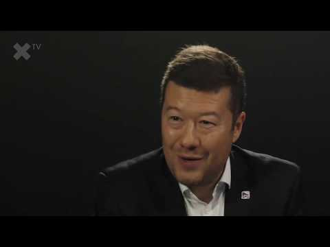 Tomio Okamura: Tomio Okamura u Luboše Xavera Veselého na XTV.