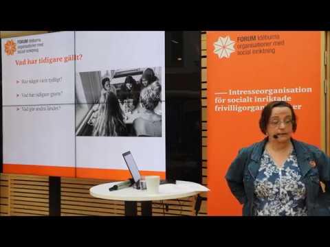 Ideellt engagemang för sjukskrivna, arbetslösa och förtidspensionerade