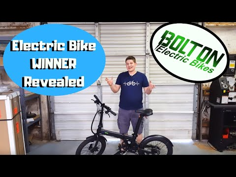 Bolton Ebikes - Electric Folding bike WINNER revealed.  Preorder discount on new models