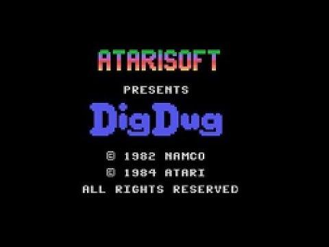 Dig Dug (Colecovision) - Review de RETROJuegos por Fabio Didone