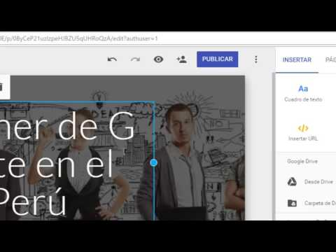 Cómo crear una página web con el nuevo Google Sites