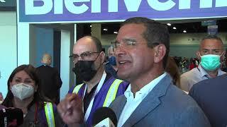 Gobernador visita vacunación masiva del Departamento de Saluden Centro de Convenciones