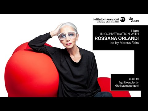 Watch our talk with Rossana Orlandi about the future of plastic