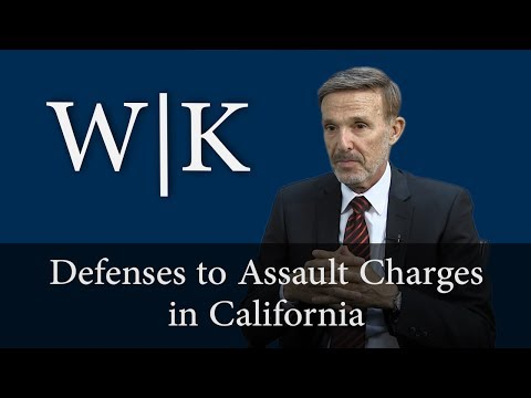 Defenses to Assault Charges (PC 240)