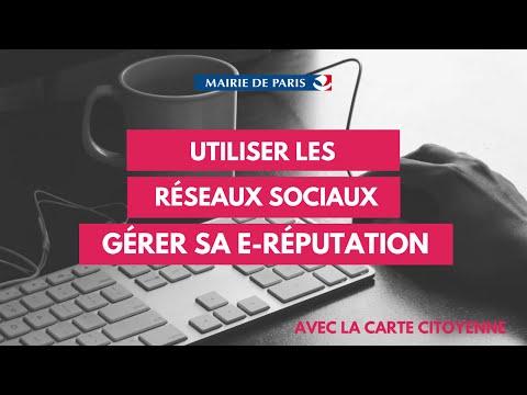 Paris Formation - Utiliser les réseaux sociaux et gérer sa e-réputation