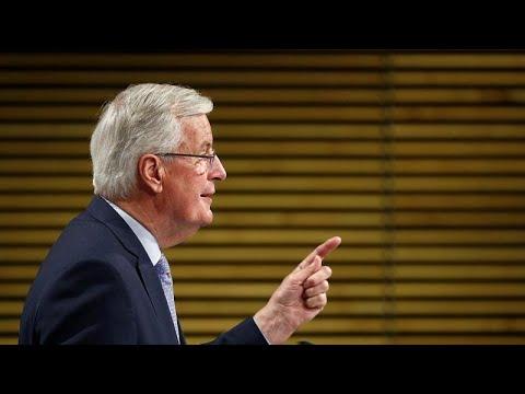 'They've taken three steps back': Barnier points finger at UK ahead of Brexit talks resumption