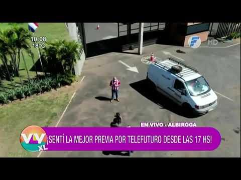 Sentí la previa por @Telefuturo Paraguay desde las 17 hs.