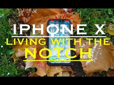 iPhone X One Week With The NOTCH ( the notch is notch an issue! ) LOL